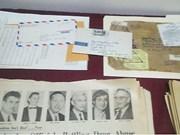 河内火炉监狱博物馆接受美国退伍军人家庭捐赠的战争实物