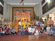 旅居印度越南侨胞隆重举行盂兰盆节