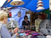 乌克兰传统展销会:越南展区吸引众多参观者驻足观看