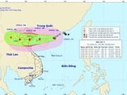 阮春强部长指导第3号台风防范应对工作