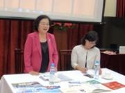 原越南国家副主席张美华访问斯洛伐克
