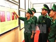 """""""黄沙与长沙归属越南:历史证据和法律依据""""资料图片展在安江省举行"""
