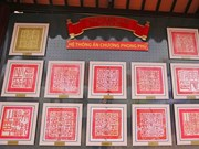 """""""世界记忆遗产阮朝朱版、木板—记忆的历史价值""""档案展在林同省开展"""