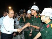 越南政府总理阮春福视察大峰隧道项目