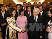 越共中央总书记阮富仲会见2016-2019年任期越南驻外大使与代表机构首席代表