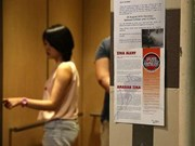 新加坡新增40起感染寨卡病例