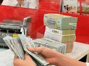 越盾兑美元中心汇率较前一周末上涨19越盾