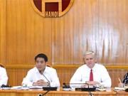 河内市将加快亚行援助的项目实施进度