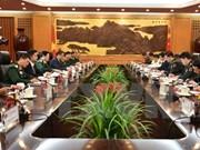 越南军事高级代表团对中国进行正式友好访问