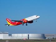 越捷航空公司推出15万张特惠机票 庆祝三条新国际航线开通