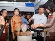 胡志明市与老挝首都万象促进商品贸易
