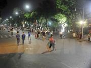 河内市努力将步行街区打造成为特色的旅游产品