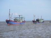 在海上遇险并得到中国及时救助的四名越南渔民已回国