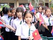 阮攸越老双语学校2016-2017新学年开学典礼在万象举行