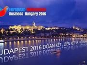 第10届旅欧越桥企业论坛在匈牙利举行