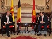 胡志明市和比利时瓦隆大区及法语区联邦今后的合作潜力巨大