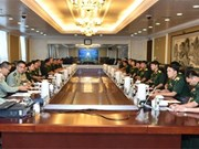 越南人民军青年军官代表团赴华参加2016年越中青年军官交流活动