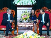 阮春福总理会见国际奥委会主席和亚洲奥林匹克理事会主席