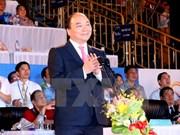 阮春福总理出席第5届亚洲沙滩运动会开幕式