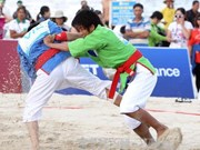第五届亚洲沙滩运动会第一天:越南队夺取三枚金牌