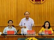 阮春福总理赞同河内市成立确保食品安全的快速反应机构