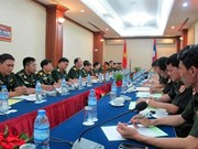 2016年越老年轻军官交流活动正式启动
