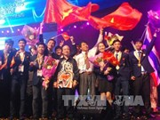 越南在第11届东盟技能大赛排名第三