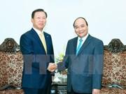 越南政府总理阮春福分别会见韩国CJ集团和CS集团领导