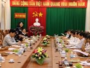 越南国家副主席邓氏玉盛赴宁顺省调研指导工作