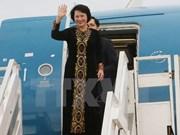 越南国会主席阮氏金银圆满结束访问老柬缅和出席AIPA37之旅