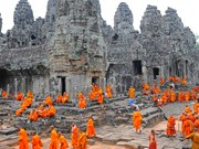2016年前9月柬埔寨吴哥考古公园接待外国游客数量156万人次