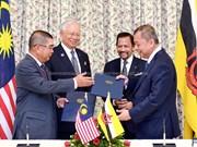 马来西亚与文莱加强多个领域的合作关系