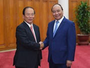 越南政府总理阮春福会见日本客人
