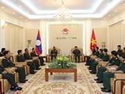 越南人民军总参谋部会见外国客人