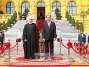 越南国家主席陈大光隆重举行仪式欢迎伊朗伊斯兰共和国总统哈桑•鲁哈尼访越(组图)