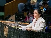 越南呼吁国际社会共同建设一个和平与安全的世界
