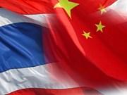 泰国与中国加强经济发展合作