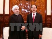陈大光主席设宴欢迎伊朗总统哈桑•鲁哈尼到访