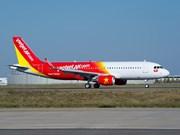越捷航空公司推出10•20越南妇女节机票优惠活动