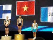 2016年体操世界杯匈牙利站:越南运动员收获两金