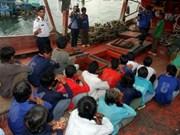 马来西亚拘留20名越南渔民