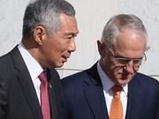 澳大利亚与新加坡签署四份重要谅解备忘录