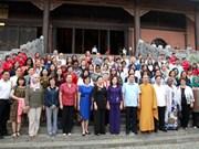 各国驻越女大使和国际组织驻越代表机构女首席代表访问宁平省