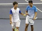 2016年越南网球公开赛:阮黄天/李黄南闯进男双1/4决赛