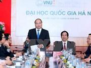 阮春福总理:河内国家大学需在国家创业建设计划中扮演领先者的角色