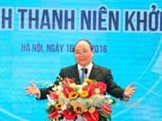 阮春福总理:当前是最佳的创业时期