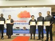 越南首位女性农民获颁联合国粮农组织表彰