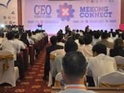 2016年湄公首席执行官连接论坛将在芹苴市举行