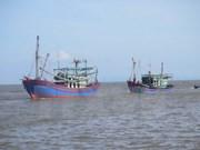 泰国拦截越南五艘渔船和28名渔民