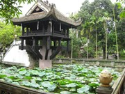 缅甸总统夫人了解河内历史文化遗产